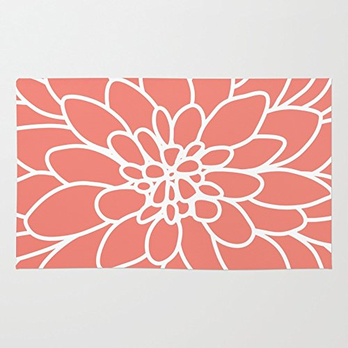 Coral Area Rug - 7