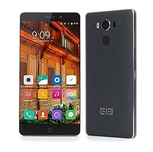 [Tienda Oficial]- Elephone P9000 - Smartphone Libre Android 6.0 (MTK6755 Helio P10 2.0 GHz 4GB RAM 32GB ROM 5.5 Pulgadas de Carga Inalámbrica) - Negro
