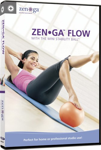 merrithew corporation Zen Ga Flow: With the Mini Stability Ball Stott Pilates DV-81241 Movie Fitness/Self-Help