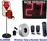 2-Digit Wireless Take-A-Number System with D80