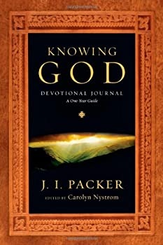 Knowing God Devotional Journal: A One-Year Guide 0830837396 Book Cover