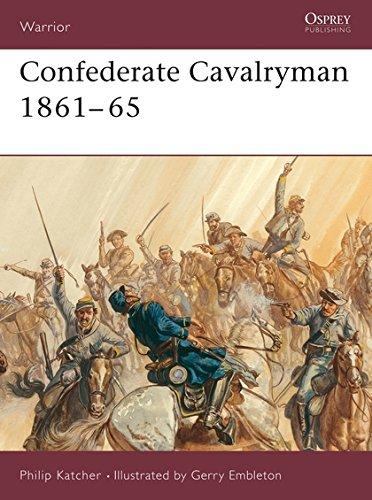 Download Confederate Cavalryman 1861–65 (Warrior) ebook