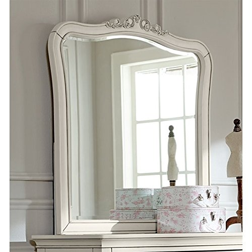 NE Kids Kensington Dresser Mirror in Antique White