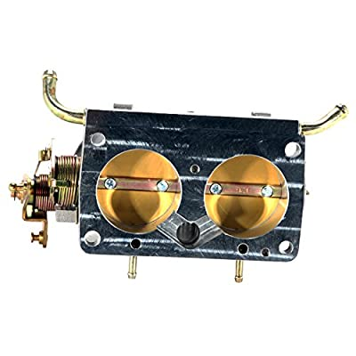 BBK Performance 3501 Twin 56mm Throttle Body - High Flow Power Plus Series For Ford F Series Truck And SUV 302, 351: Automotive