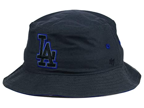 Amazon.com    47 Brand Los Angeles Dodgers Adult Bucket Hat Dark ... 25d38b1095c