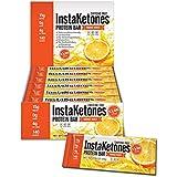 InstaKetones® 11.7g GoBHB® Per Protein Bar (Orange Burst) (Caffeine-Free) (12 Bars) Exogenous Ketones