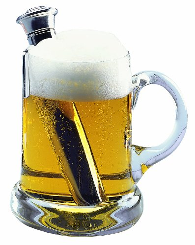 Westmark Beer Warmer with Stand, Stainless Steel