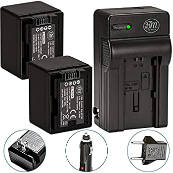 Amazon.com : BM Premium BP-727 Battery for Canon Vixia HF ...