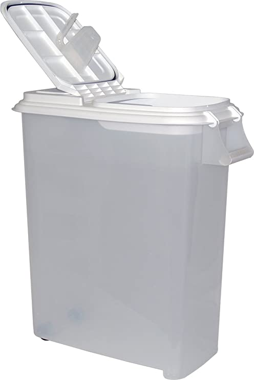Buddeez XXLarge (80QT) Fresh Dry Dog u0026 Cat Food Plastic Storage Container With Locking  sc 1 st  Amazon.com & Amazon.com : Buddeez XXLarge (80QT) Fresh Dry Dog u0026 Cat Food Plastic ...