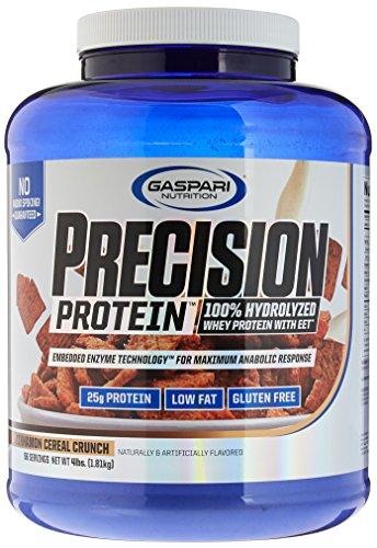 Gaspari Nutrition Precision Protein Hydro Cereal Crunch, Cinnamon, 4 - Myofusion Chocolate