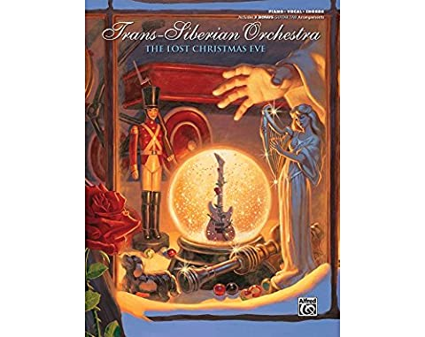 Alfred Trans-Siberian Orchestra The Lost Christmas Eve Piano/Vocal/Chords Book - Broadway Classical Sheet Music