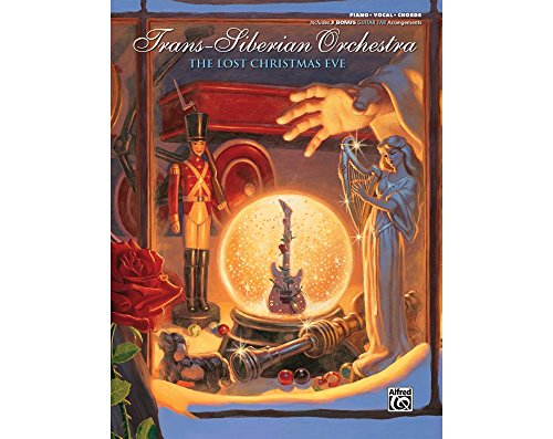 Alfred Trans-Siberian Orchestra The Lost Christmas Eve Piano/Vocal/Chords Book (Christmas Eve Sheet Music)
