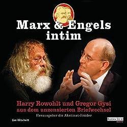 Marx und Engels intim