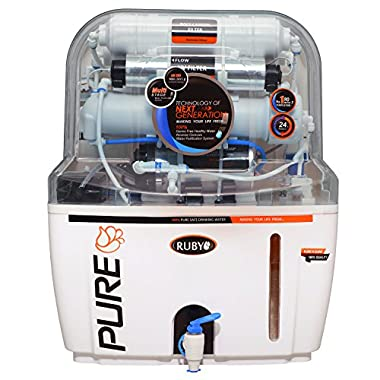 Ruby Economical Ro+ Uv+Tds Controller Multi Stage Water Purifier 7