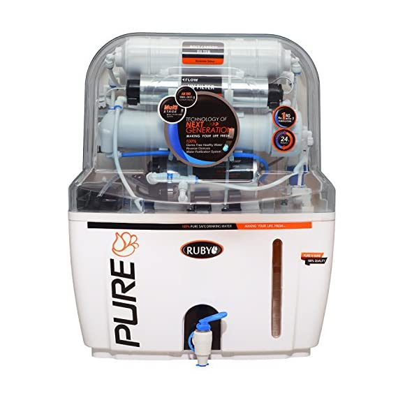 Ruby Economical Ro+ Uv+Tds Controller Multi Stage Water Purifier 1