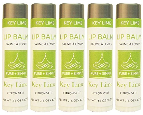Lime Lip Balm Tube - 2