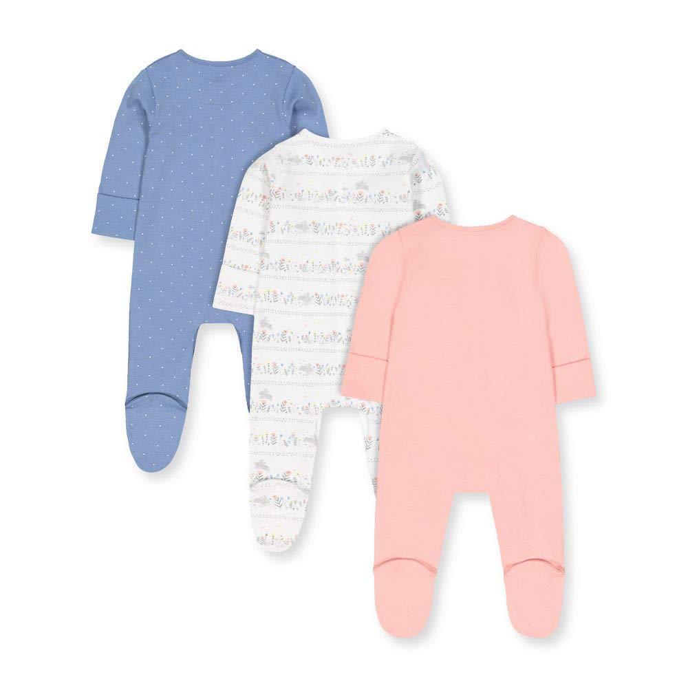 Mothercare Baby-M/ädchen Schlafstrampler