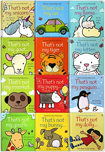 - That's Not My Toddlers 12 Books Collection Set Pack Fiona Watt (Touchy-Feely Board Books)
