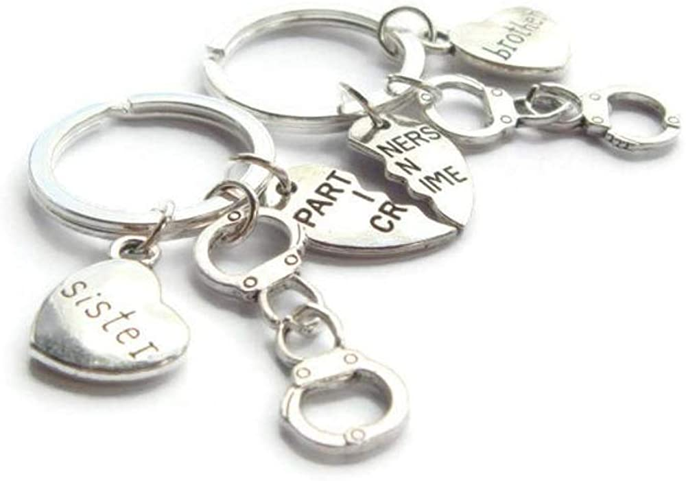 Friend Gifts You/'re Awesome Keyring Christmas Presents Brother Keychain LC