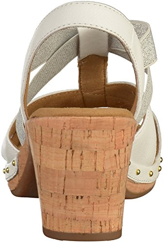 82 Gabor Femmes 37 Blanc 773 Sandale EU 5 G fqdpBq