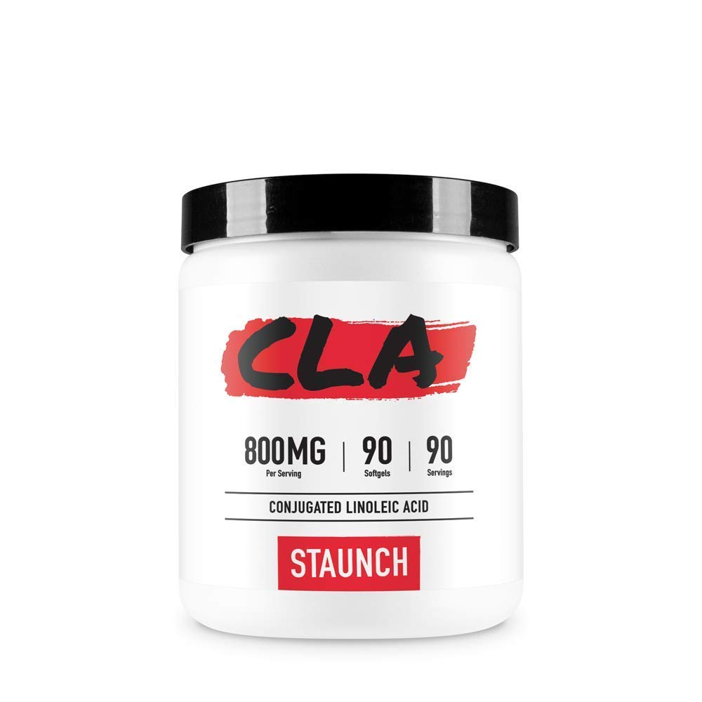 Staunch CLA (Conjugated Linoleic Acid) 90 Softgels, High Qualify, Non-GMO, Gluten Free
