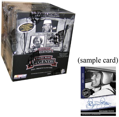 Press Pass Legends Racing (2006 Press Pass Legends Racing HOBBY Box - 18P4C)