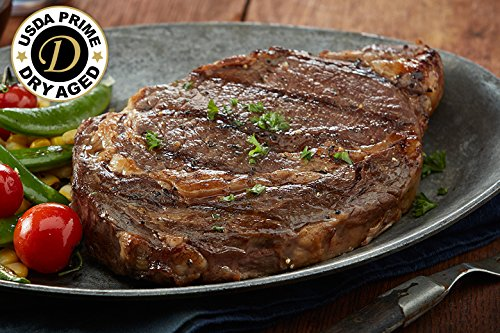 USDA Prime - 4 (16oz) Dry Aged Boneless Ribeye - Chicago Steak Company - PSD153 4 16OZ (Cook Boneless Ribs)