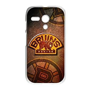 Forever Collectibles Boston Bruins Retro Custom Case for Motorola G