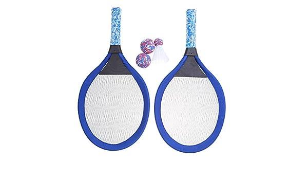 LIOOBO Beach Badminton - Raquetas de Tenis y Juego de Pelotas de ...
