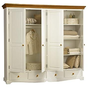 Fabulous Schöne Möbel nicht zu erinnern, große Kleiderschrank, Weiß und KI64