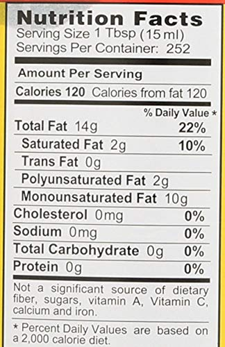 Bragg Organic Extra Virgin Olive Oil, 128 Ounce by Bragg (Image #1)