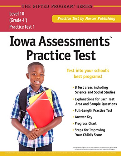 Iowa AssessmentsTM Practice Test (Grade 4) Level 10
