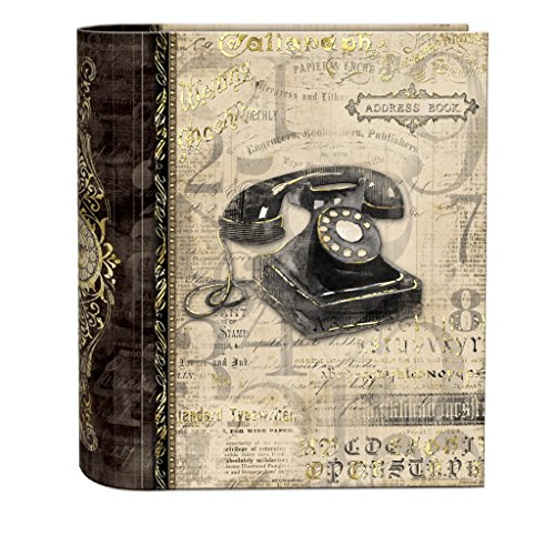 (Punch Studio Address Book- #45600 Antique Correspondence by Punch Studio)