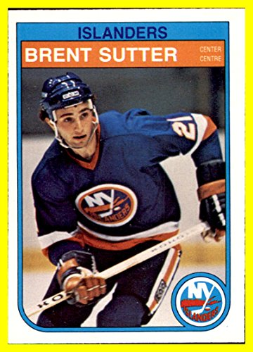 1982-83 O-Pee-Chee #216 Brent Sutter RC NEW YORK ISLANDERS ROOKIE by thecardattic