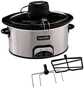 Crock-Pot SCCPVP650AS-S iStir Automatic Stirring Slow Cooker