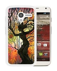 Individual Design Phone Case tree of life 1 White Popular Sale Motorola Moto X Phone Case