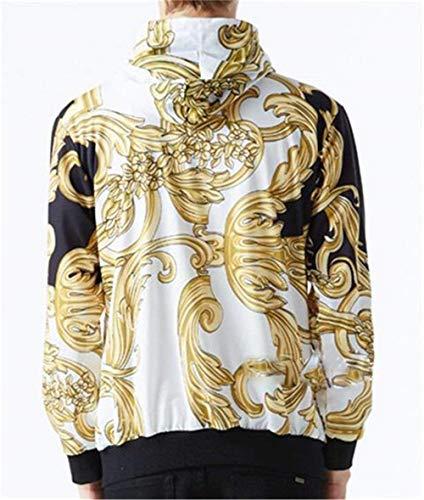 Animal Hip 3d Stile Digitale Maniche Tasche Giacche Unisex Cappuccio Hop color A Colour Size Xl Outwear Con Lunghe Semplice Stampa 18 Laterali wFfWfZxq