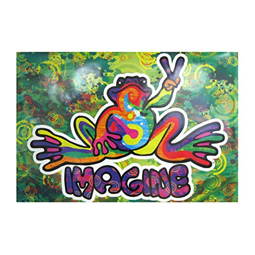 peace-frogs-paper-poster