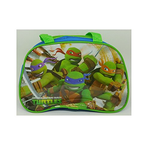 Bolsa de merienda para niños Tortugas Ninja, 23 x 20 x 9 cm ...