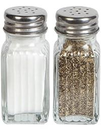 Want 1 X Glass Salt & Pepper Shaker Set by Greenbrier online