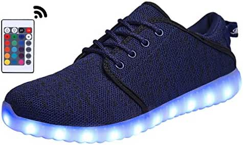 MOHEM ShinyNight LED Shoes Light Up USB Charging Flashing Sneakers