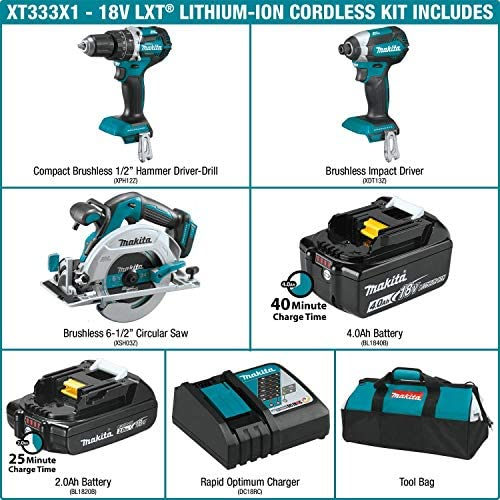 Makita•DML185•18Volt•LXT Lithium-Ion Xenon Flashlight•W//BL1840 4.0Ah Battery•New