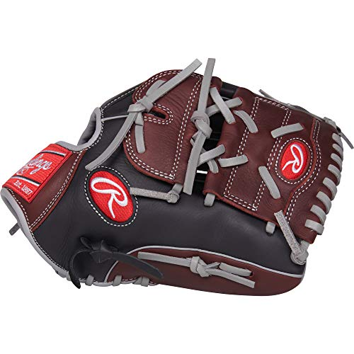 Rawlings R9 Baseball Glove, Black, 12