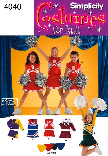 Simplicity Sewing Pattern 4040 Child and Girl Costumes, AA (2-4-6) -