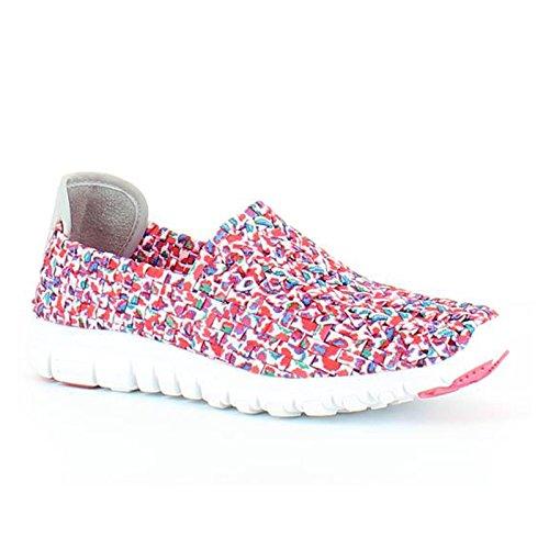 Heavenly Feet Heavenly Feet Stomp Shoes Pink Multi - Zapatillas para mujer Multi Pink