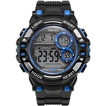 smael serie 2018 Digital Wrsitwatches deportes al aire libre smael nuevo relojes negro hombres reloj automático Fashion reloj 1515 impermeable Deporte ...