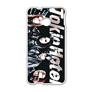 Printed Cover Protector HTC One M7 Cell Phone Case White Tokio Hotel Bzkjv Unique Design Cases
