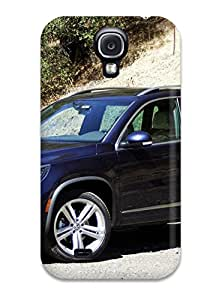 Galaxy S4 Case Cover - Slim Fit Tpu Protector Shock Absorbent Case (volkswagen Tiguan 29)