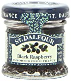 ST. DALFOUR Black Raspberry Conserves, 1 Ounce Jars (Pack of 48)