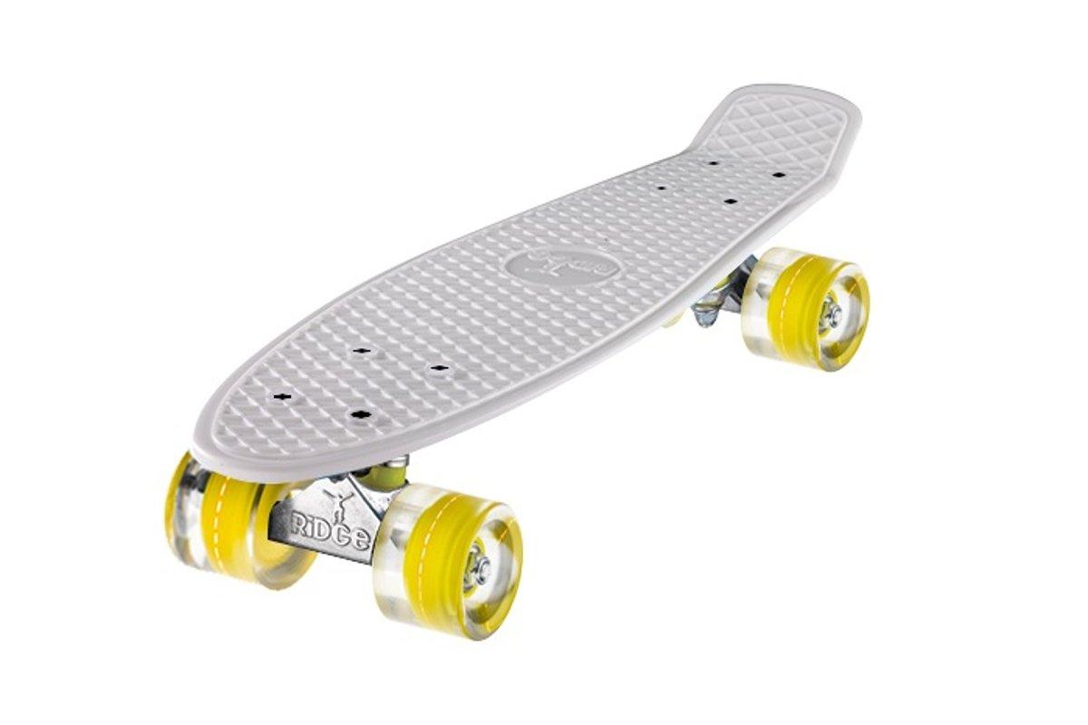 Ridge 22 Retro Mini Cruiser Skateboard with LED Wheels